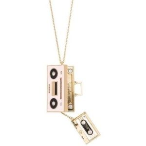 NWOT Kate Spade Boombox Necklace